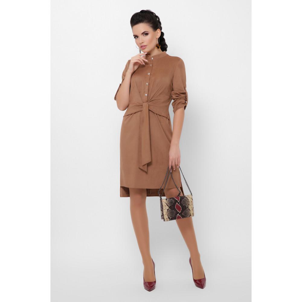 Великолепное замшевое платье Мерида фото 2