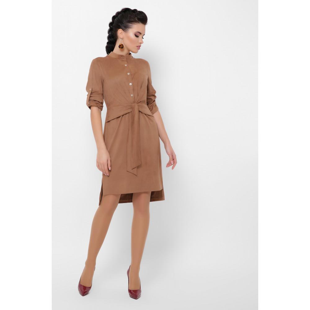 Великолепное замшевое платье Мерида фото 3