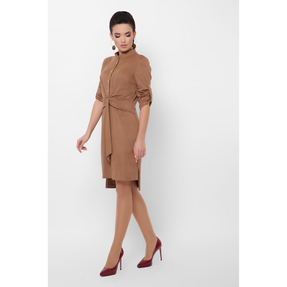 Великолепное замшевое платье Мерида фото 4