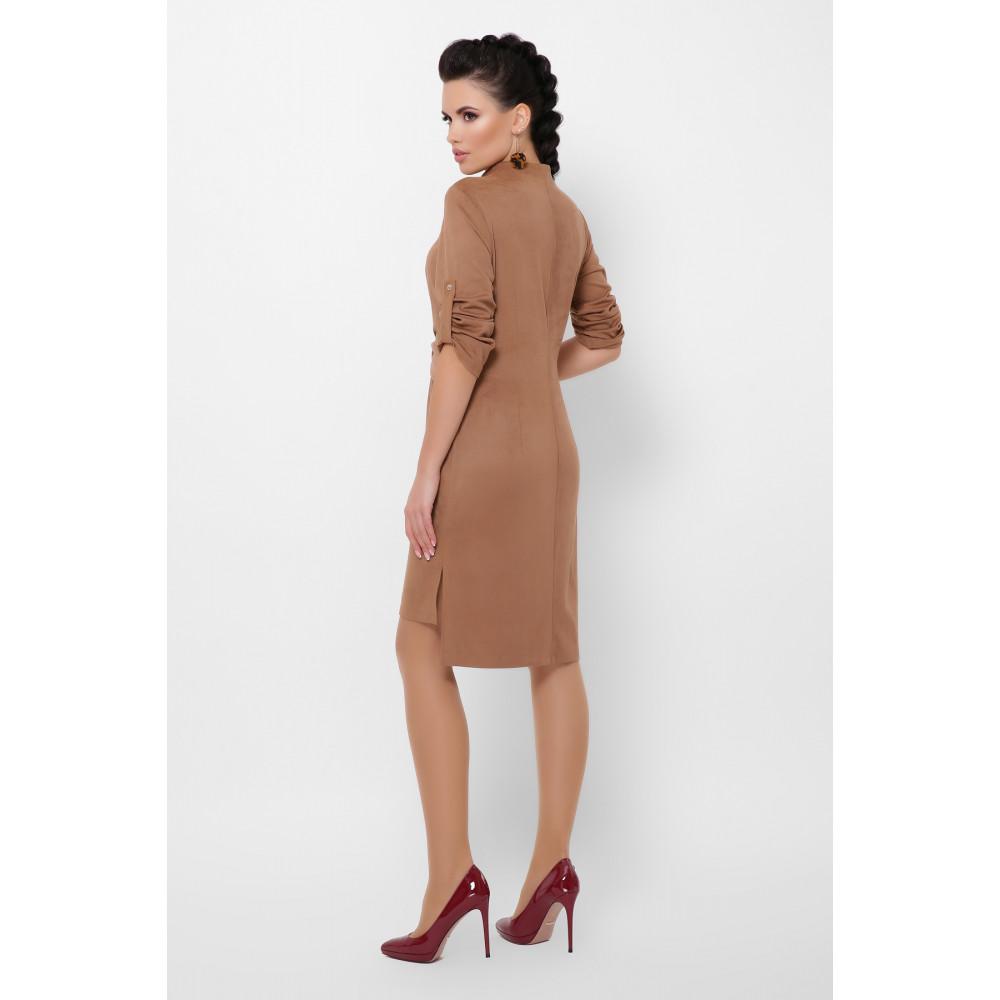 Великолепное замшевое платье Мерида фото 5