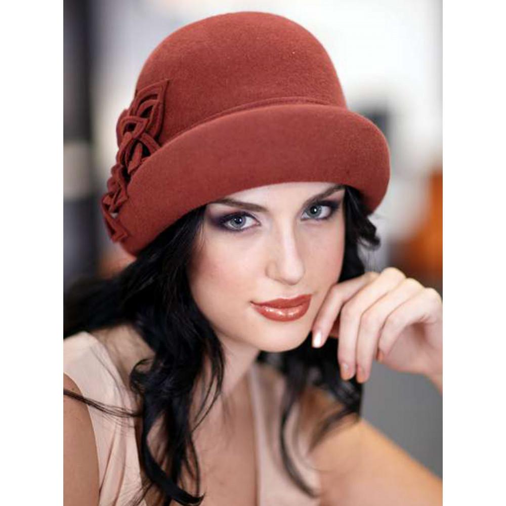 Женская шляпа-ретро 164-1 фото 1