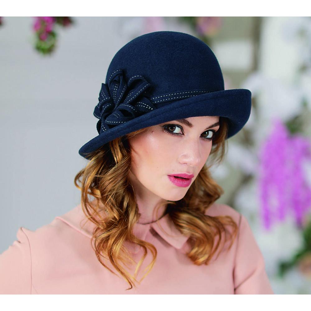 Асимметричная женская шляпа 147-1  фото 1