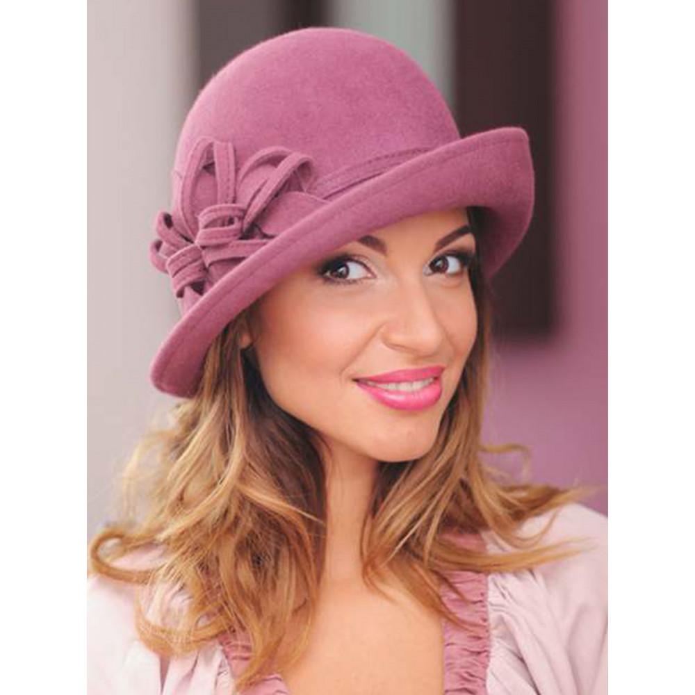 Асимметричная женская шляпа 147-1  фото 2