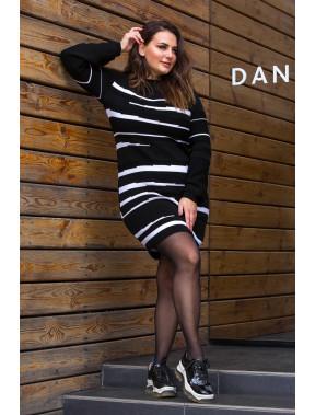 Стильное теплое платье Линда