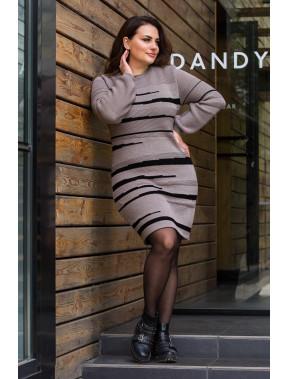 Симпатичное теплое платье Линда