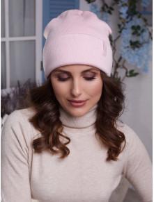 Двойная розовая шапка Лана
