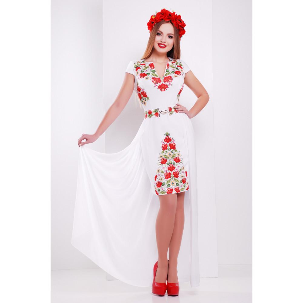 Нарядное платье с принтом Аркадия фото 1
