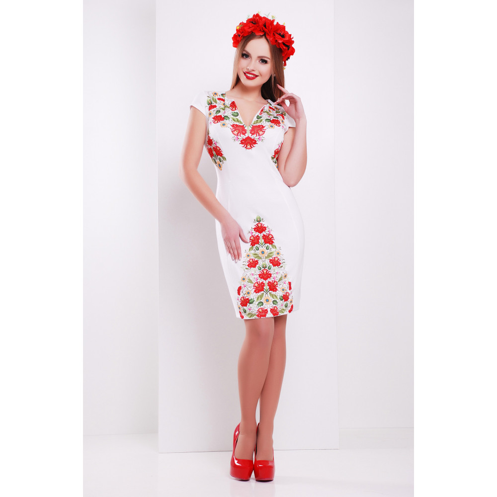 Нарядное платье с принтом Аркадия фото 3