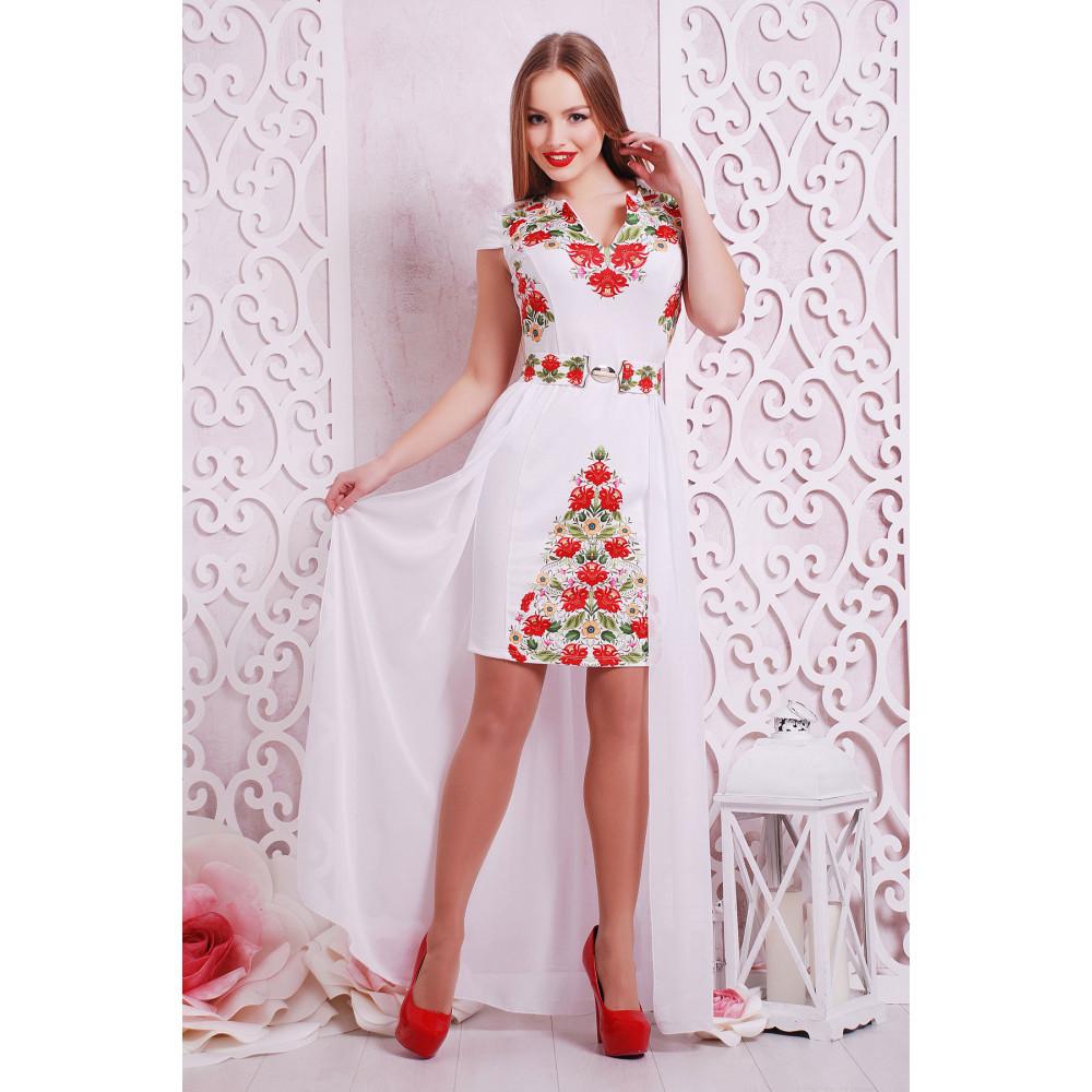 Нарядное платье с принтом Аркадия фото 4