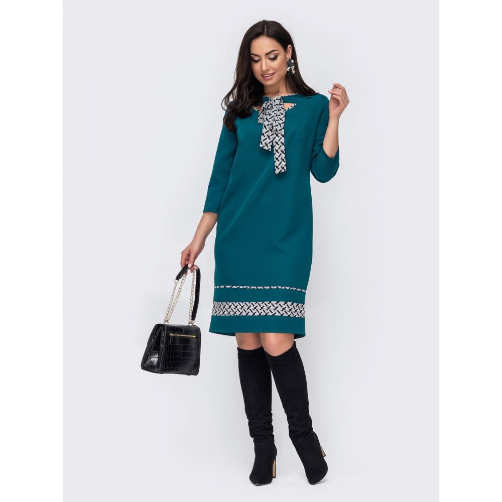 Зеленое платье с игривыми вырезами Лиззи фото 2