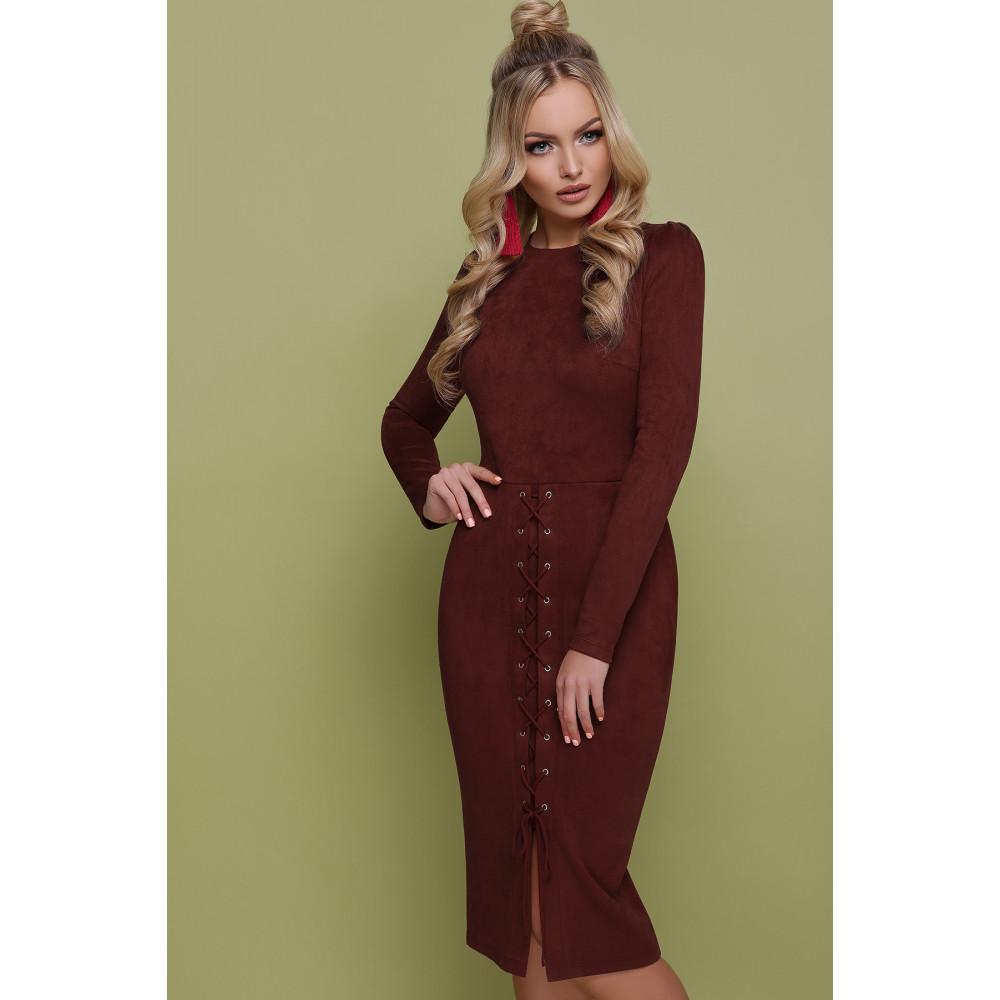 Изумительное замшевое платье Таяна фото 1