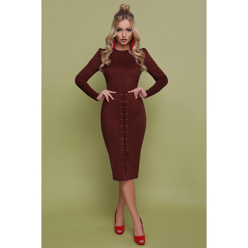 Изумительное замшевое платье Таяна фото 2