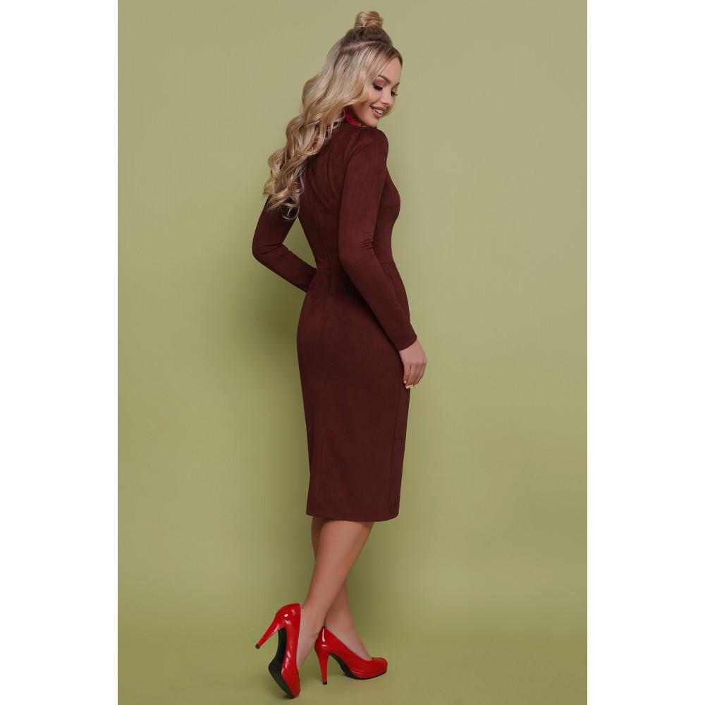 Изумительное замшевое платье Таяна фото 3