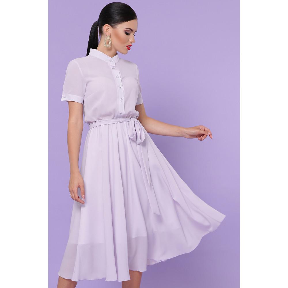 Лавандовое легкое платье Изольда фото 1