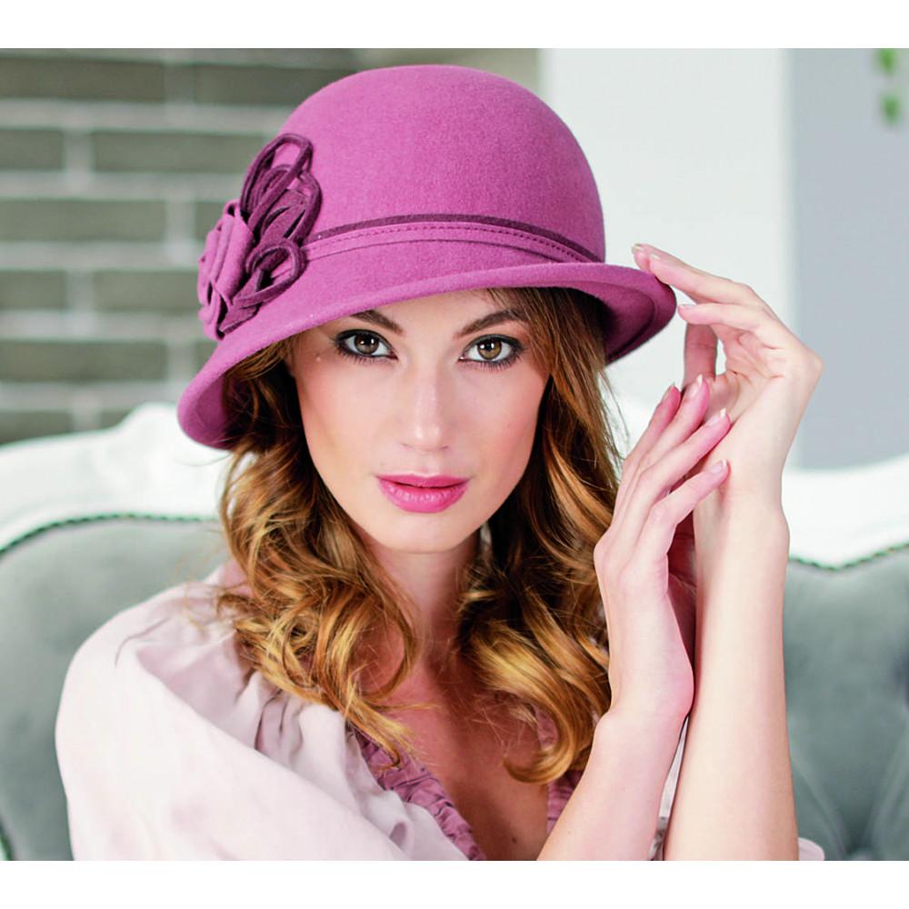 Красивая асимметричная женская шляпа 288-1 фото 1