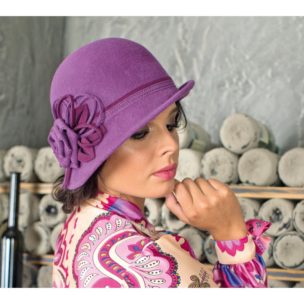 Красивая асимметричная женская шляпа 288-1 фото 2