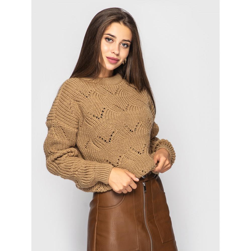 Карамельный свитер Sonata  фото 1