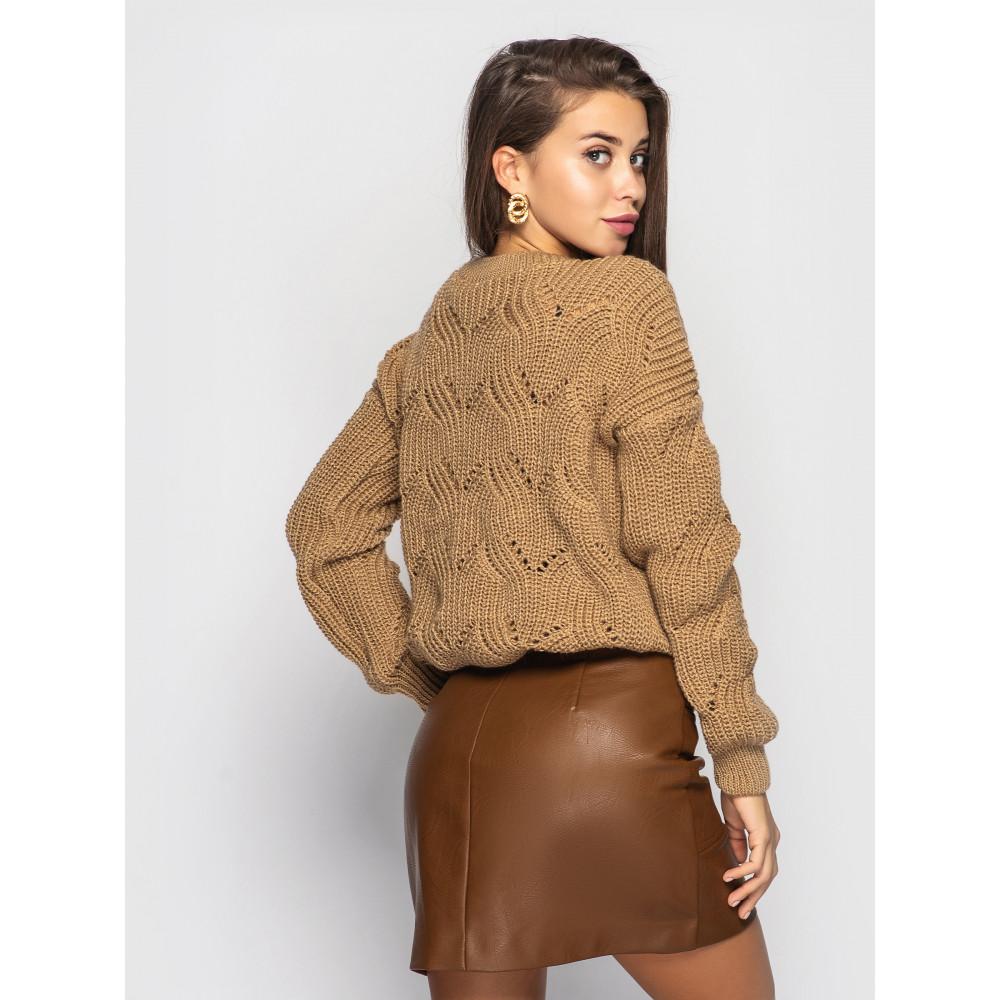 Карамельный свитер Sonata  фото 2