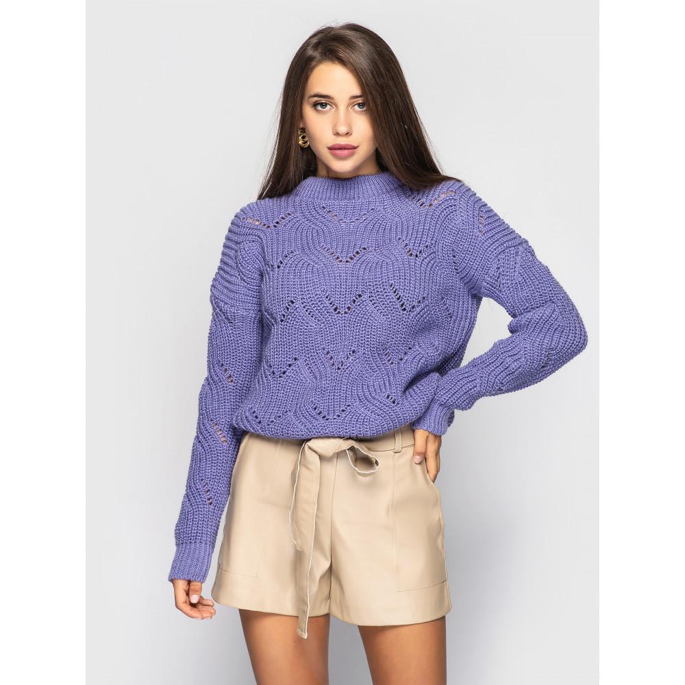 Лавандовый свитер Sonata  фото 1