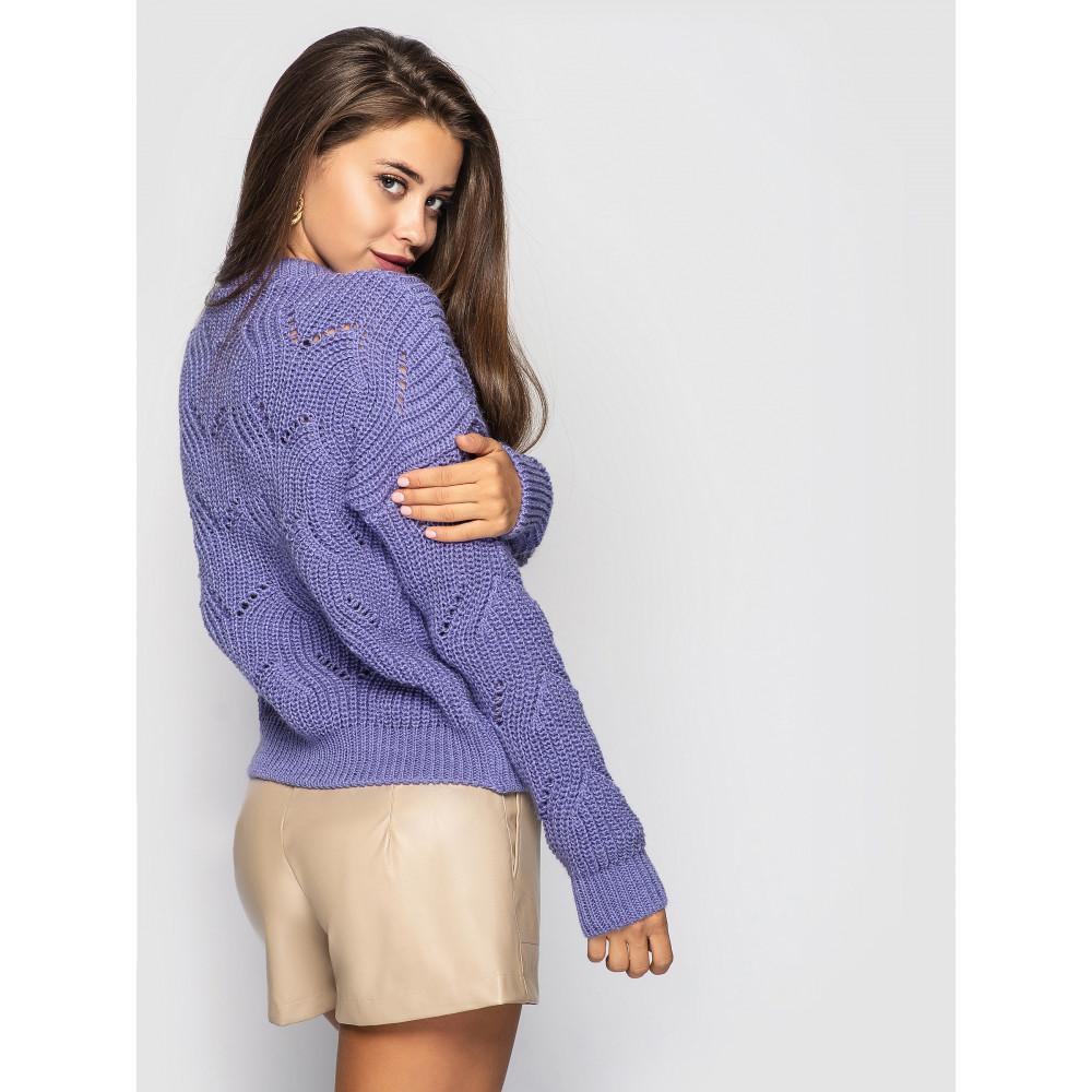 Лавандовый свитер Sonata  фото 2