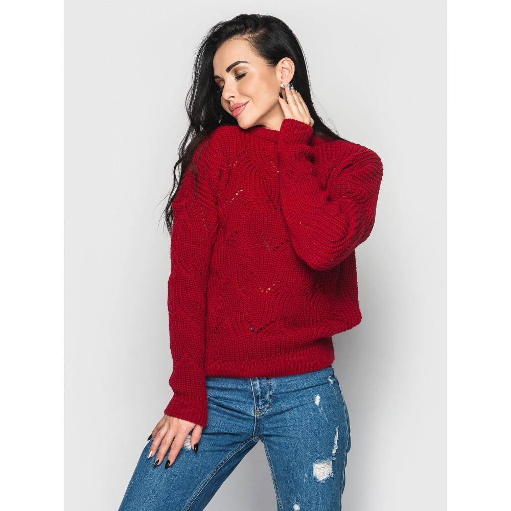 Алый свитер Sonata  фото 1