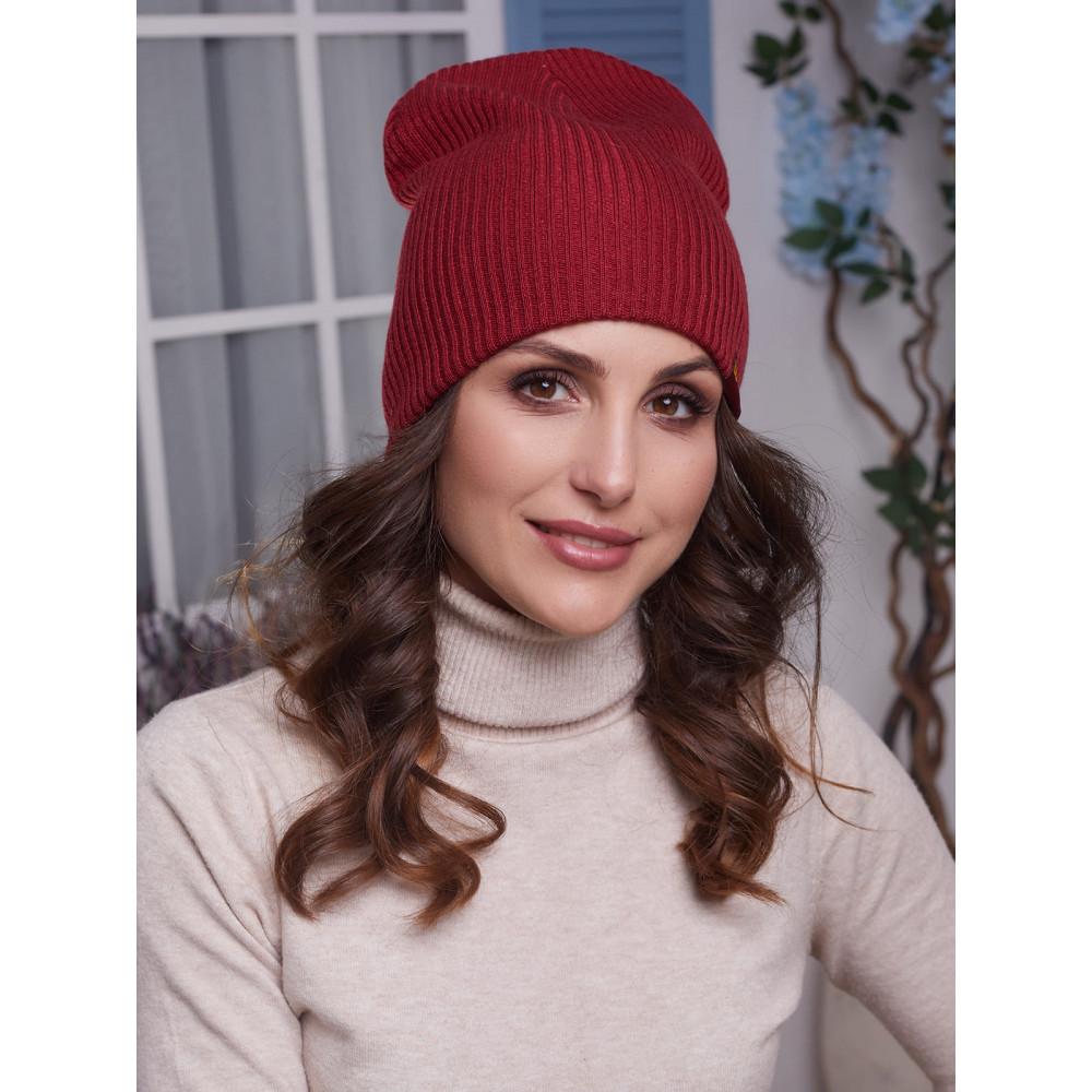 Женская розовая шапка Алекса фото 3