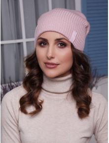 Женская вязаная шапка Ванесса