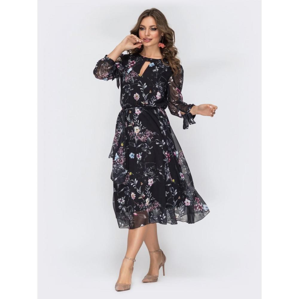 Женственное шифоновое платье Салли фото 2
