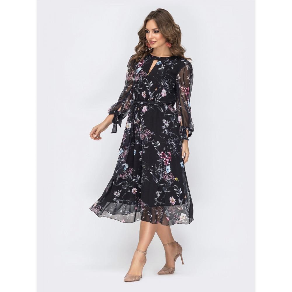 Женственное шифоновое платье Салли фото 3