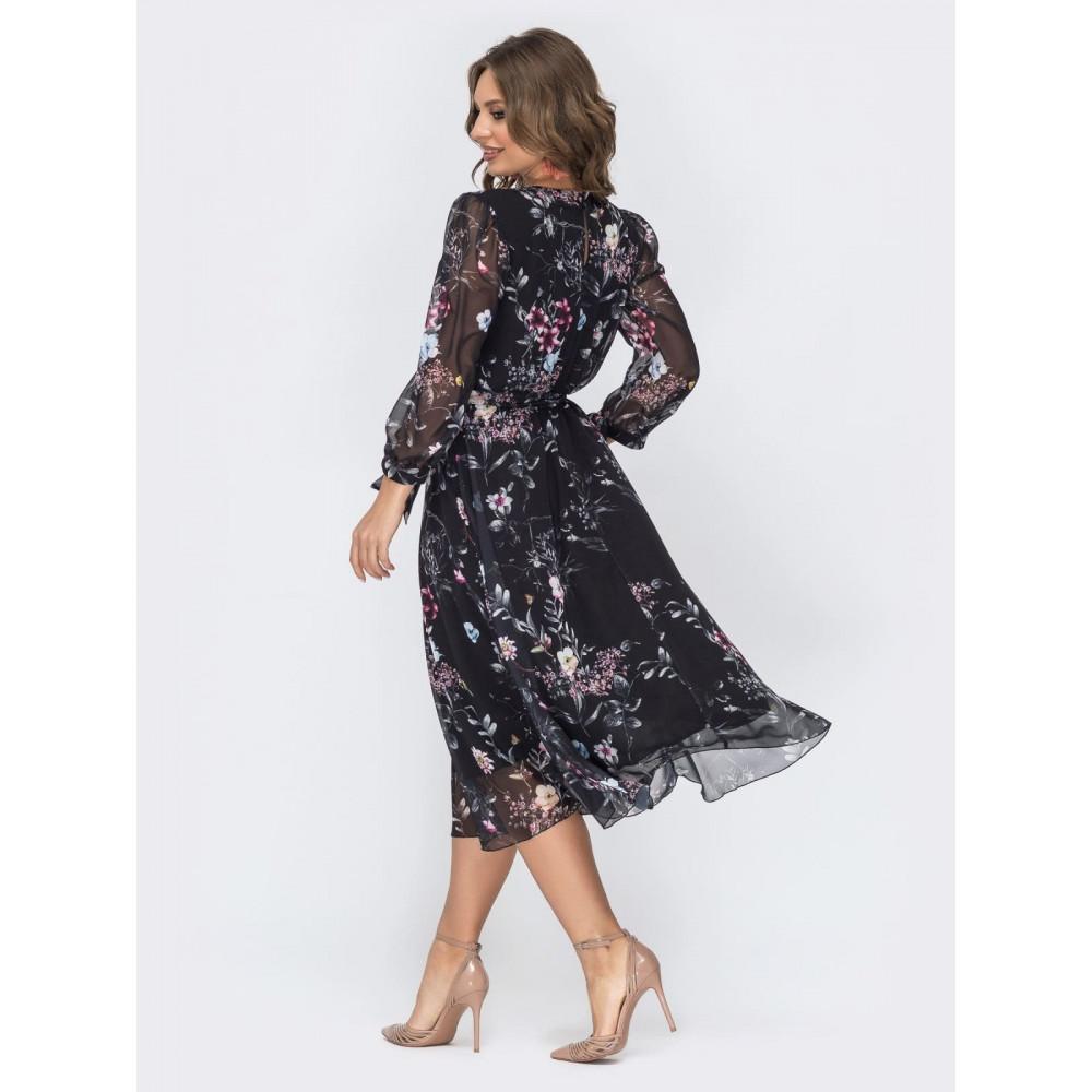 Женственное шифоновое платье Салли фото 4