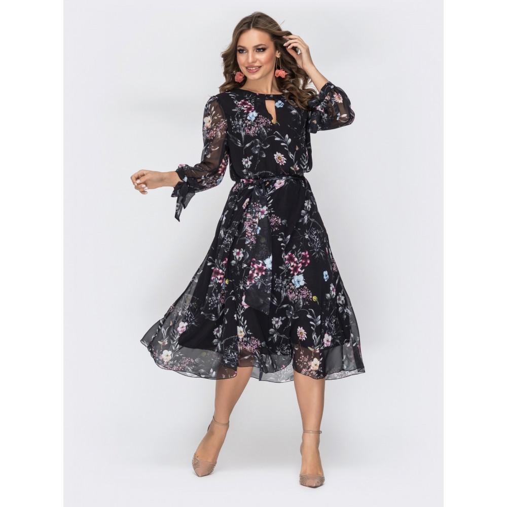 Женственное шифоновое платье Салли фото 1