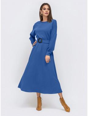 Модное платье-миди Эльза с поясом