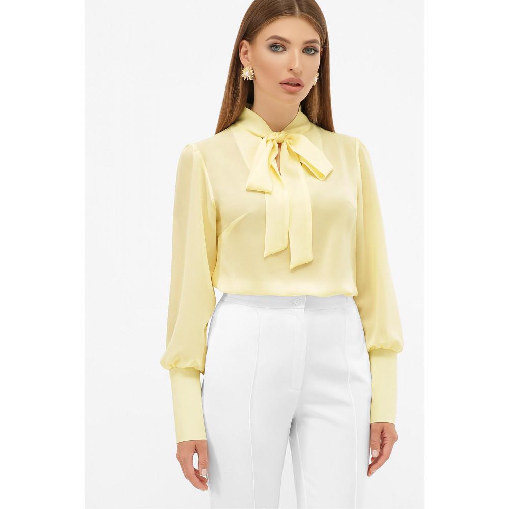Блузка в стиле ретро с бантом Дарла фото 1