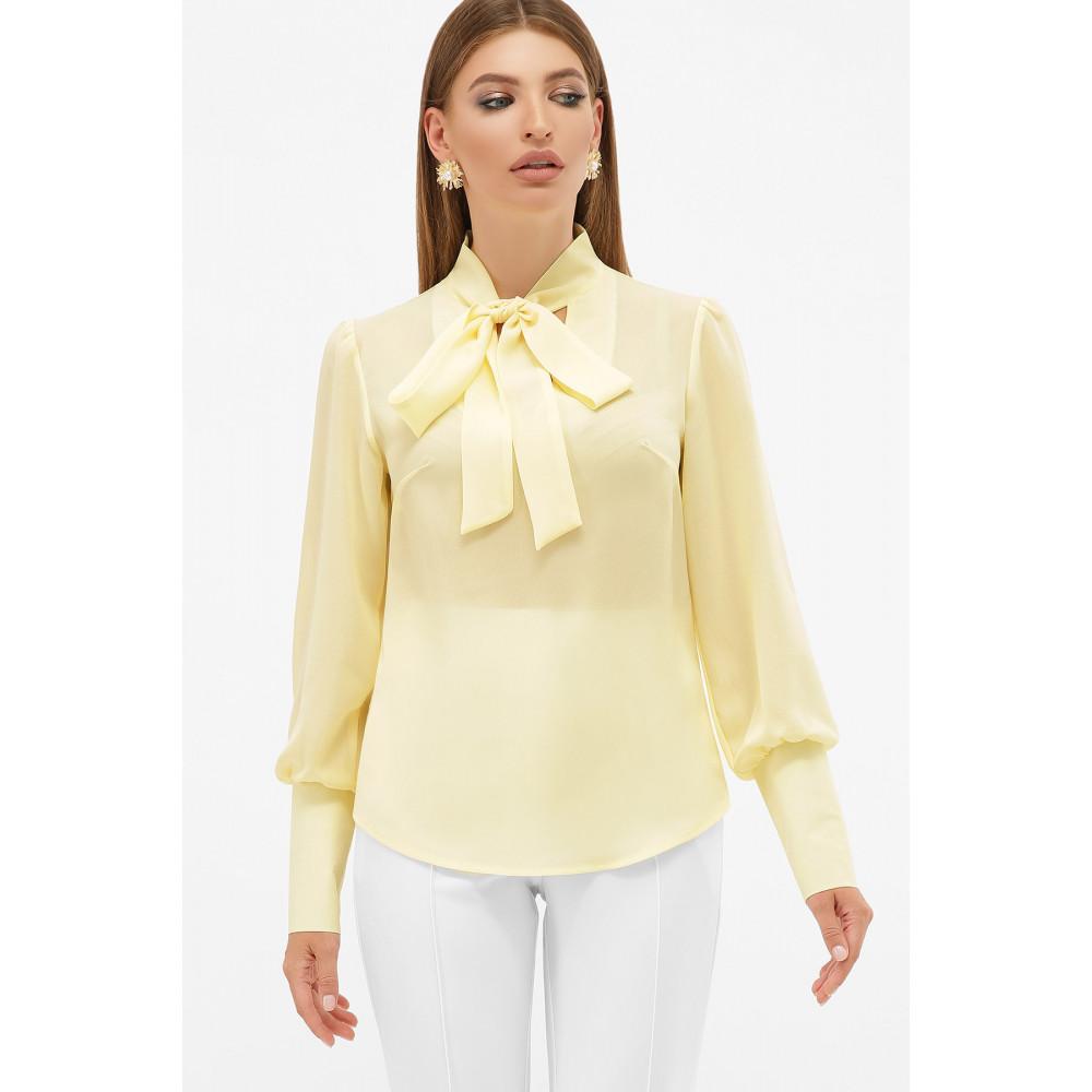 Блузка в стиле ретро с бантом Дарла фото 2
