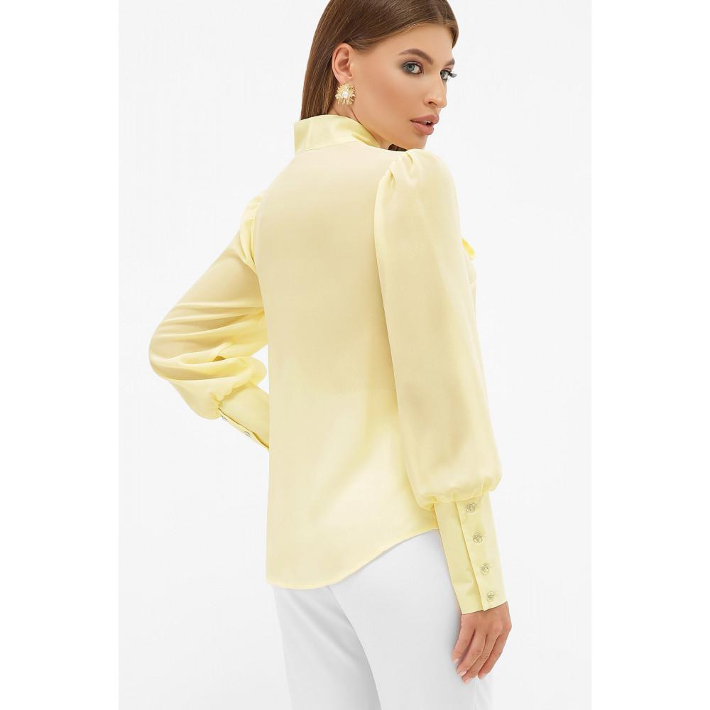 Блузка в стиле ретро с бантом Дарла фото 3