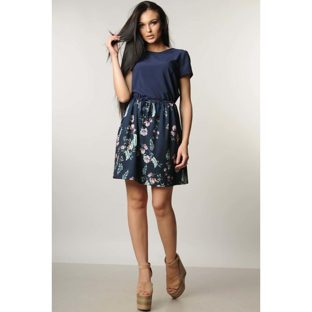 Легкое платье с цветами на юбке Элли  фото 1