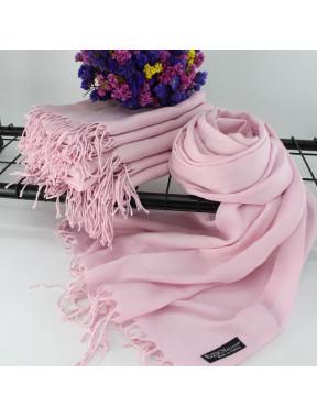 Нежный розовый шарф Луиза