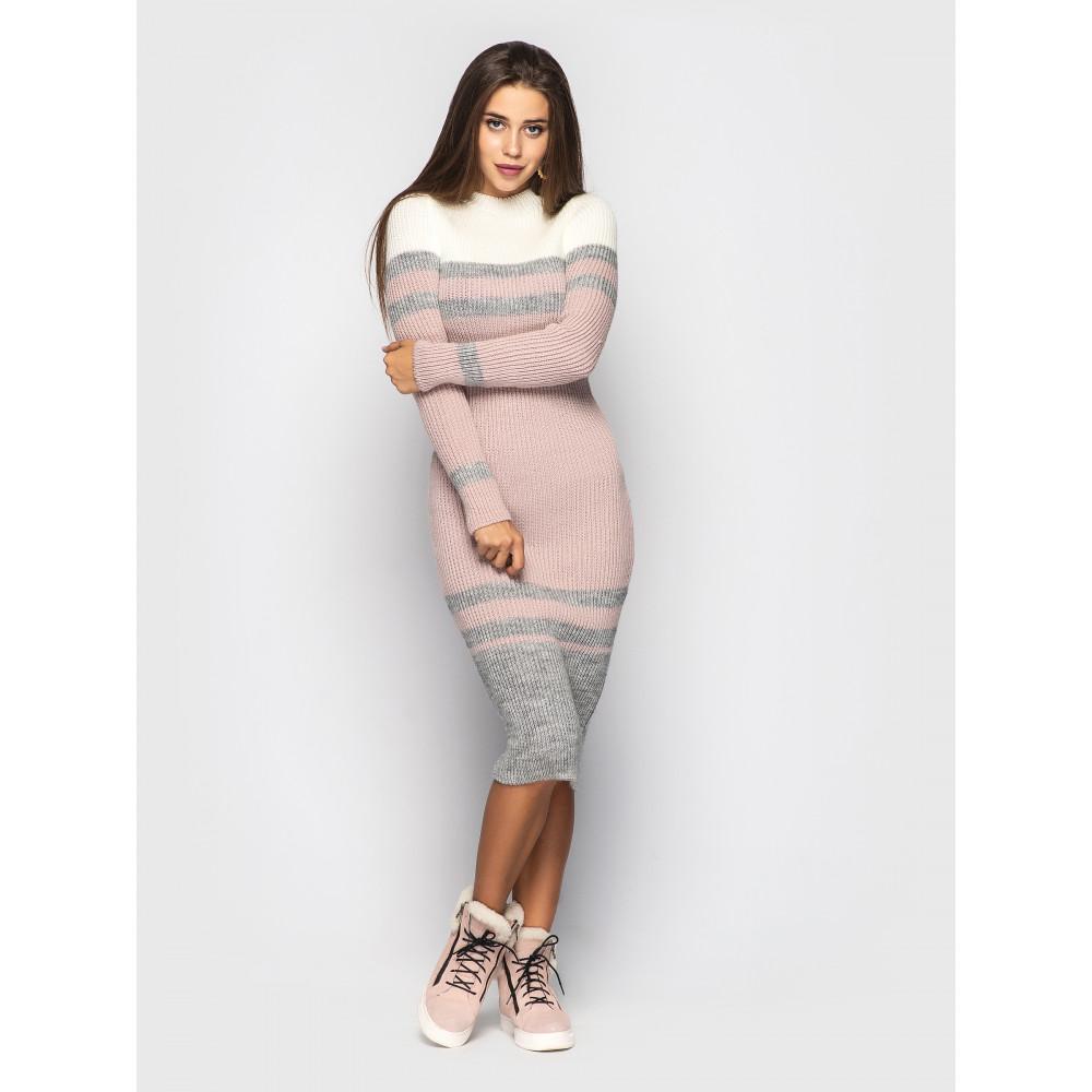 Интересное вязаное платье Alyaska  фото 1