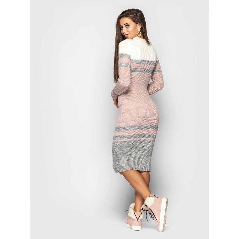 Интересное вязаное платье Alyaska  фото 2