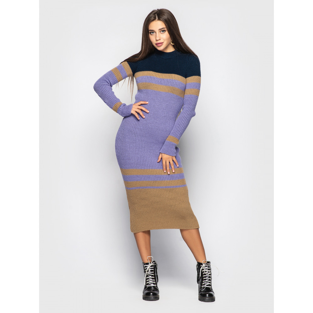 Загадочное вязаное платье Alyaska фото 1