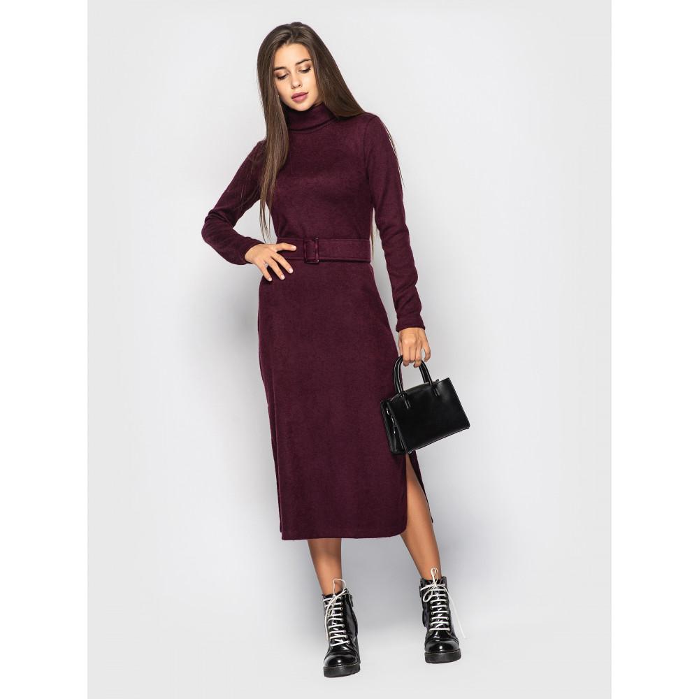 Бордовое платье Jeneva  фото 1