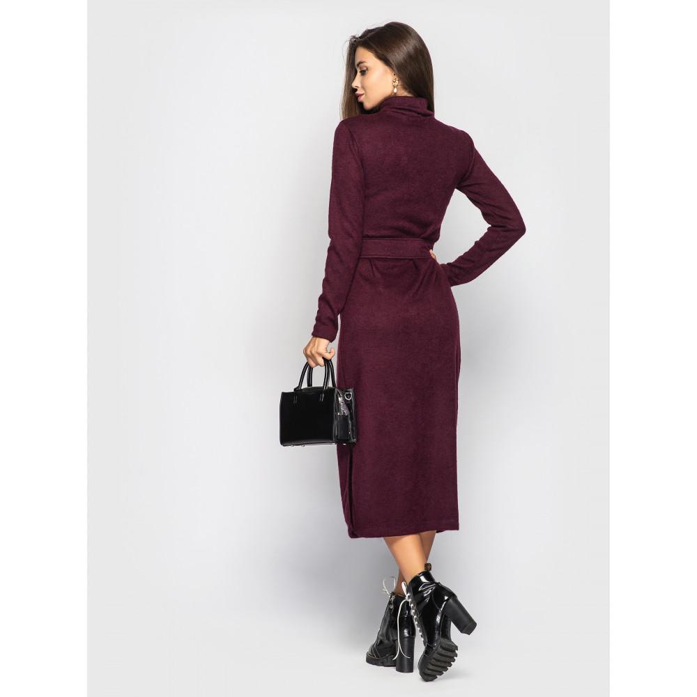 Бордовое платье Jeneva  фото 2