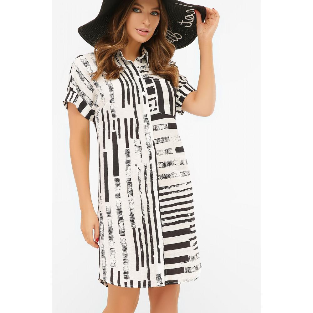 Интересное платье-рубашка Филена фото 1