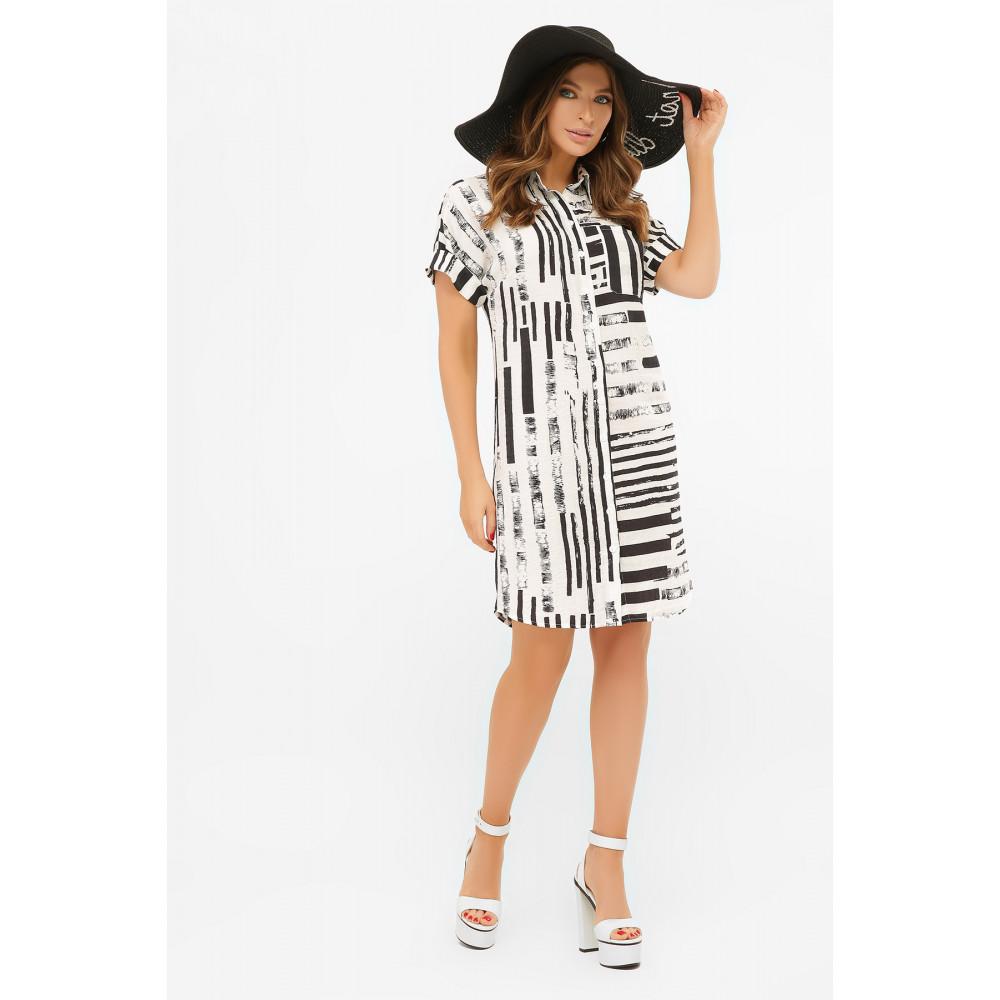 Интересное платье-рубашка Филена фото 3