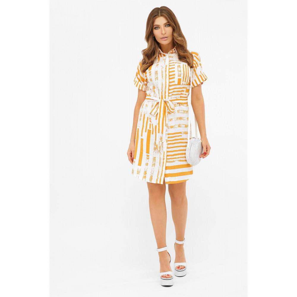 Короткое платье-рубашка Филена фото 1