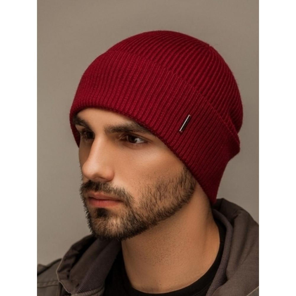 Бодовая мужская шапка Лофт  фото 1