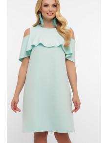 Ніжна сукня з воланом Ольбія