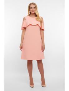 Жіночна сукня з воланом Ольбія