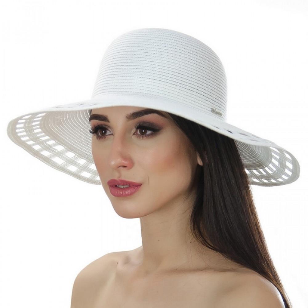 Белоснежная шляпка Амита фото 1
