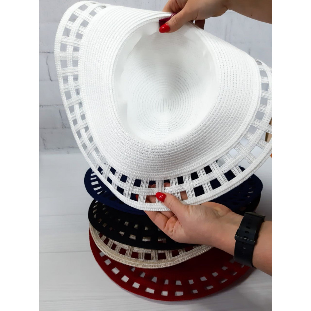 Белоснежная шляпка Амита фото 2